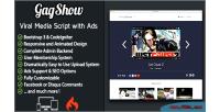 Viral gagshow media clone 9gag.tv script