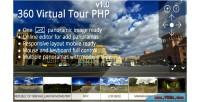 Virtual 360 tour php