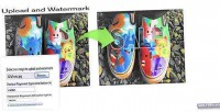 Watermarker image script