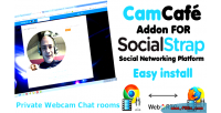 Webcam camcafe socialstrap for addon