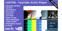 Youtube lastfm artist player