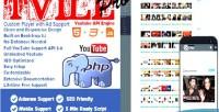 Youtube tvile pro engine api