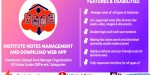 Institute notes management & application web download