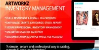Inventory artworkz stock management