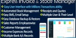 Invoice express with solutions account stock
