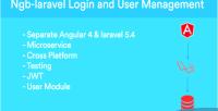 Laravel ngb crud angular laravel api rest on jwt bootstrap 4 angular