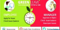 Leave green system management leave