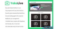Live yokolive channel & stream live script cms responsive