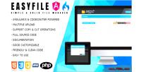 Angularjs easyfile manager file codeigniter
