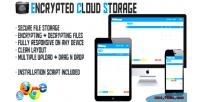 Cloud encrypted storage