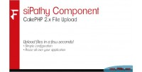 Component sipathy cakephp upload file 2.x