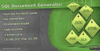 Document sql generator