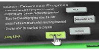 Download button progress