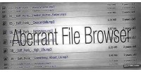 File aberrant browser