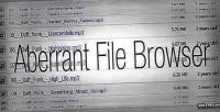 File aberrant browser