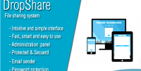 File dropshare sharing system
