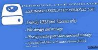 File personal storage