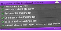 File secure upload class