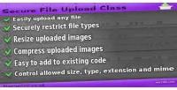 File secure upload class