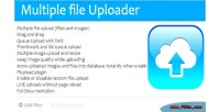 Files multitple images resizer & uploader