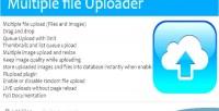 Files multitple images resizer & uploader