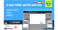 Kotakin with api self sharing file host