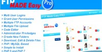 Made easy pro php ftp manager editor code with made