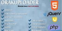 Modern orakuploader uploader multi image