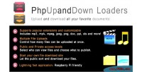 Multiple phpupanddown file downloads & uploads