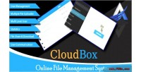 Online cloudbox system management file