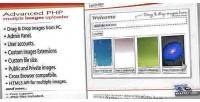 Php advanced uploader images multiple