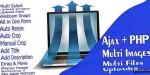 Ajax php multi images uploader files multi