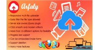 Resilient arfaly.js uploader file multi