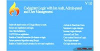 Login codeigniter auth ion with