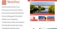 Magazine newstree & cms news website portal