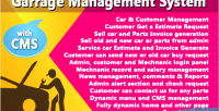 Management garage cms with system
