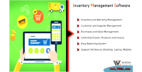 Management inventory software