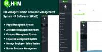 Manager hr human resource system management hr hrms software