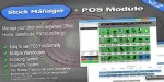 Stock manager advance 2 with point module sale of