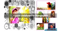 Marketplace photocram photos stock for