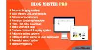 Master blog pro