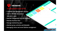 Master gym system management gym