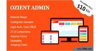 Material codeigniter management user admin