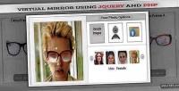Mirror virtual using php & jquery