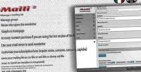 2 maili newsletter system