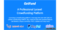A getfund professional platform crowdfunding laravel