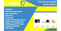 A larabid laravel platform auction php