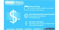 Accounting accournal journal script