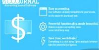 Accounting accournal journal script
