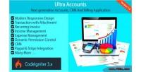 Accounts ultra accounts crm billing